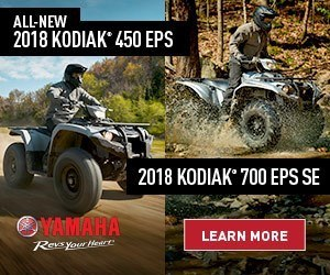 2018 Yamaha Kodiak 450 and 700 Learn More