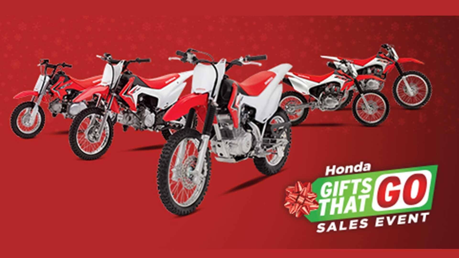 Honda Gifts That Go Sales Event
